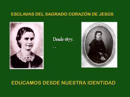estilo - Esclavas del Sagrado Corazón de Jesús