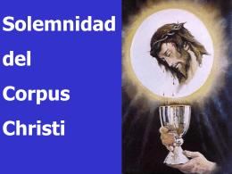 Santísimo Cuerpo y Sangre de Cristo, Ciclo A. San Juan 6, 51-58