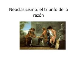 Neoclasicismo: el triunfo de la razón