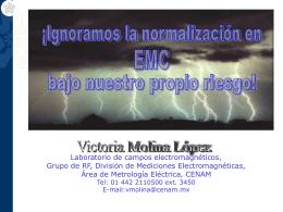 normalización-emc-INTERNET - Centro Nacional de Metrología