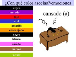 ¿Con qué color asocias?/emociones