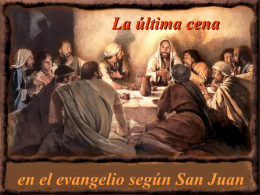 25.-La Última Cena de Jesús