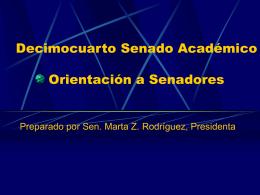 Senado Académico - Universidad Interamericana de Puerto Rico