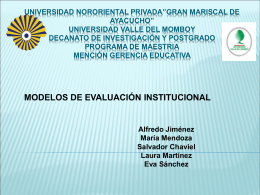 "UNIVERSIDAD NORORIENTAL PRIVADA""GRAN MARISCAL DE"