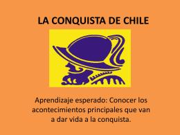 La Conquista de Chile Quintos Básicos