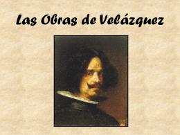 Las obras de Velázquez