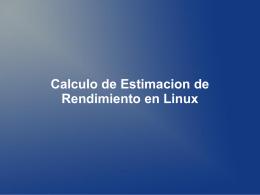 presentacion - Blog de Evaluación de Sistemas de Procesamiento