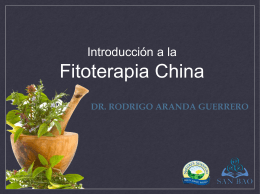 ppt fitoterapia china