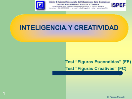 "Test ""Figuras Creativas"""