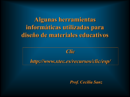 Material sobre Clic