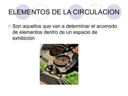 Elementos de Circulación