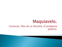 Maquiavelo. - IES Carlos III