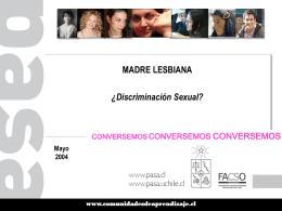 Homoparentalidad en Chile. Material para el debate