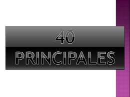 40 principales - juanignaciomora