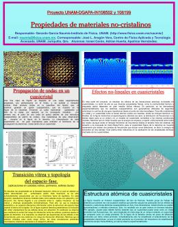 Proyecto IN108502: Propiedades de materiales no