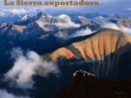 Diapositiva 1 - Sierra Exportadora