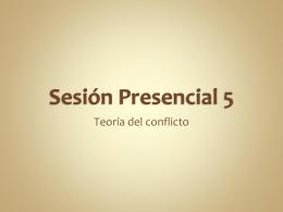Teoría del conflicto - formacionprofesionalEAVASESORIAS