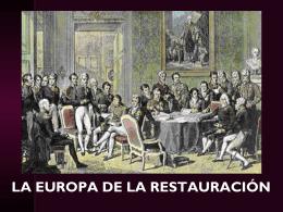 El Congreso de Viena (1814