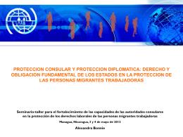 Protección consular y protección diplomática