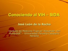 Prevención y Control del VIH – SIDA en el Perú