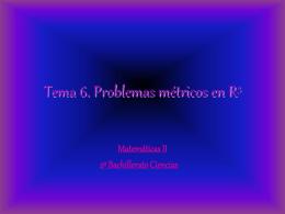 Fórmulas y estrategias para resolver problemas métricos