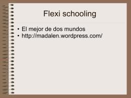 Flexi schooling_El mejor de dos mundos