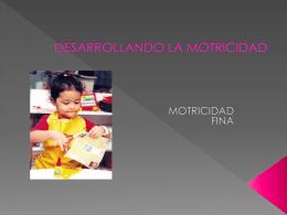 Slide 1 - MOTRICIDADGRUESA