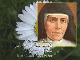 Salmo de alabanza a María Mazzarello