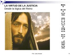 la virtud de la justicia - Portal Formacion Cristiana 9noGrado