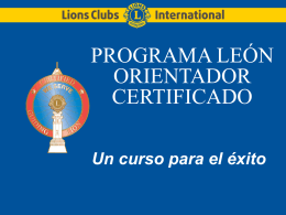 cgl - Lions Clubs International