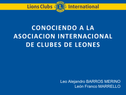 "taller ""conociendo a lions clubs international"""