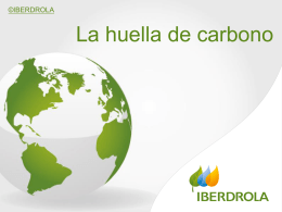 Huella de Carbono de IBERDROLA - actúa contra el cambio climático