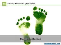 Huella ecológica - Sala de Historia