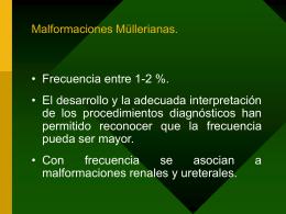 Malformaciones Müllerianas