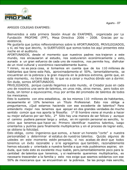 mensajepresidente_290807 - Fundacion Pro-FIME