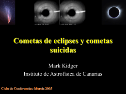 cometa Biela - Observ. Cometas
