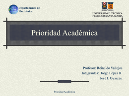 Prioridad Académica