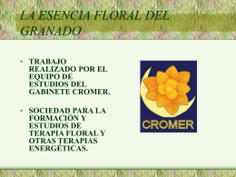 Presentación. - Gabinete Cromer