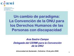 CONVENCION ONU DDHH PCD 180708