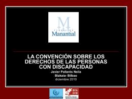 LA CONVENCIÓN SOBRE LOS DERECHOS DE LAS PERSONAS