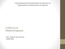 Presentación - Universidad de Puerto Rico Humacao