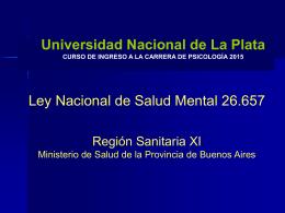Diapositiva 1 - Facultad de Psicología