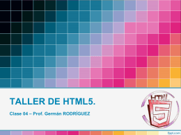 TALLER HTML5 04