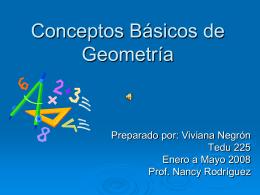 Conceptos Basicos de Gemometria