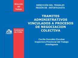 Slide 1 - Dirección del Trabajo