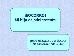 CONVIVIR CON EL ADOLESCENTE