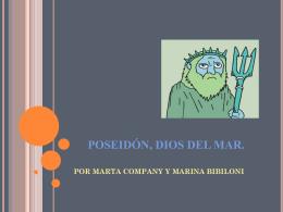 POSEIDÓN, DIOS DEL MAR.