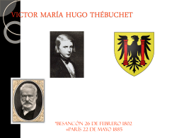 VICTOR HUGO Thébuchet, - WagnerDelCastilloFigueroa