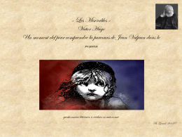 « Les Misérables » Victor Hugo