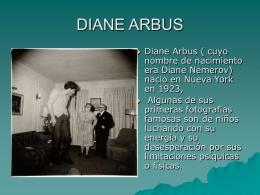 DIANE ARBUS - WordPress.com